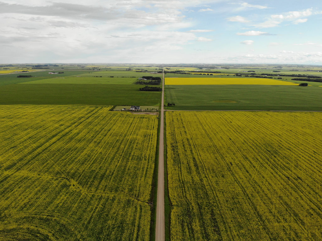 Farming Aerial Photography