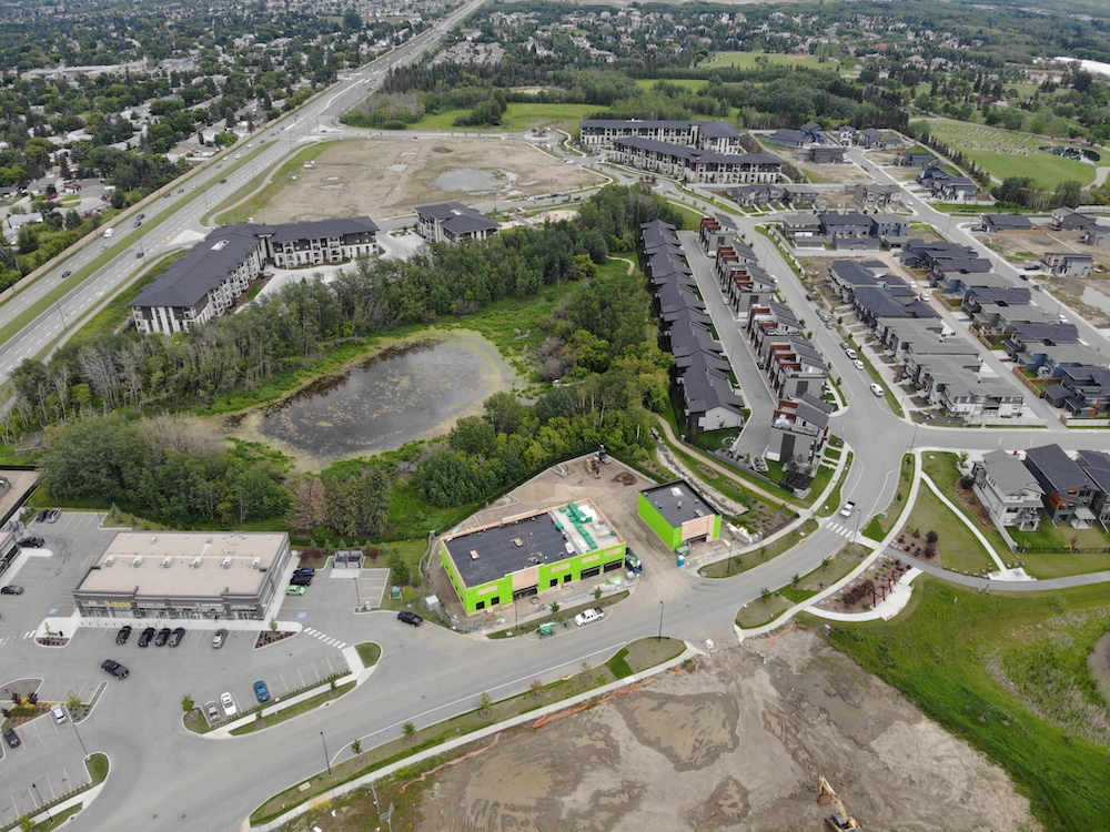 Sherwood Park Drone Photography