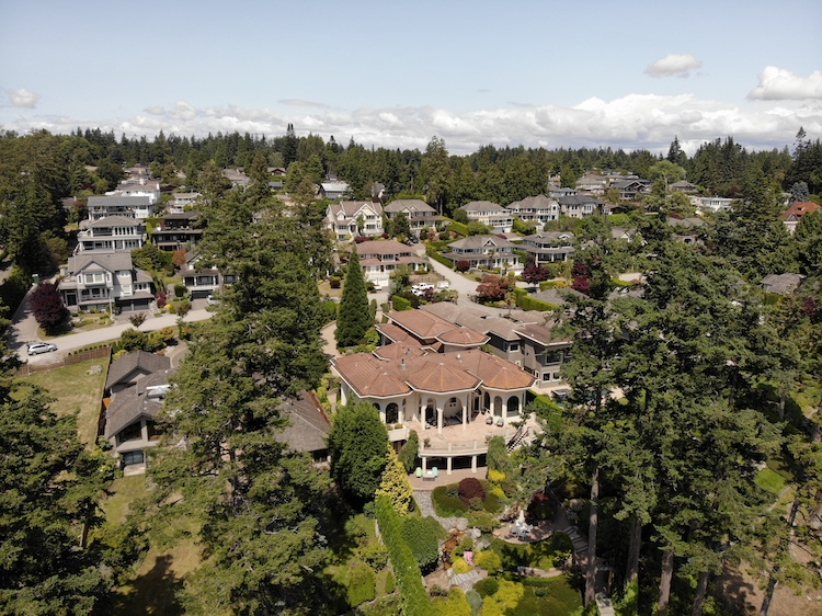 Aerial Photography White Rock British Columbia