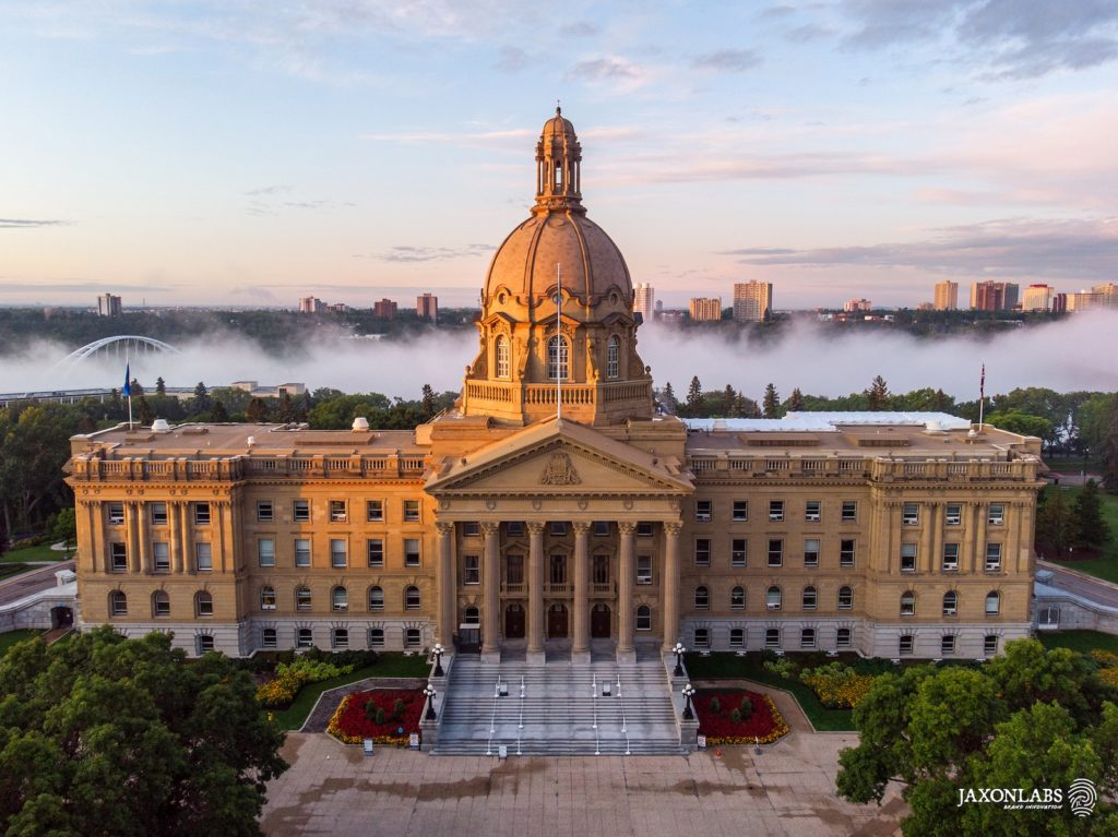 What is Brand Building-Edmonton-Legislature